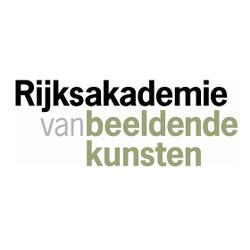 Rijksakademie van beeldende kunsten logo